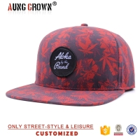 printing flat bill design your own hawaiian snapback sport cap/ hat