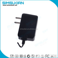 5V 1a Wall Charger for Android Tablet PC MID eReader with Round 2.5mm