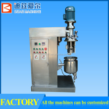 High Speed Lab Cream Vacuum Emulsifiers 20L Mixer Small Lab Emulsifier Mixer,WUXI DZAE
