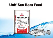 Unif Aquatic Fish Feed, Sea Bass Extruded Floating Feed, 20kg, #5(7.5mm)