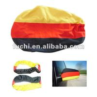 Polyester Germany Car Wing Mirror Cover Flag