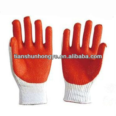 Security Gloves Rubber Laminated Coated Gloves Work