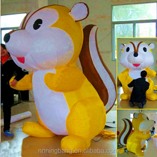 NB-CT3090 Giant High-quality inflatable squirrel for advertising