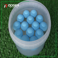 white magnet lake golf ball 2-ply professional practice golf balls