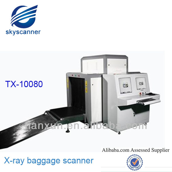 Easy operation Military, Police Station, Hotel safety equipment x ray scanner machine