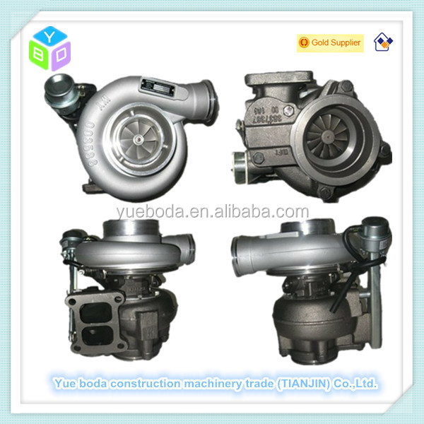 Loader WA380-3 HX40W turbo charger ass'y 6743-82-8220 new type for 6D108 engine