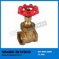 NRS threaded steam brass gate valves dimensions