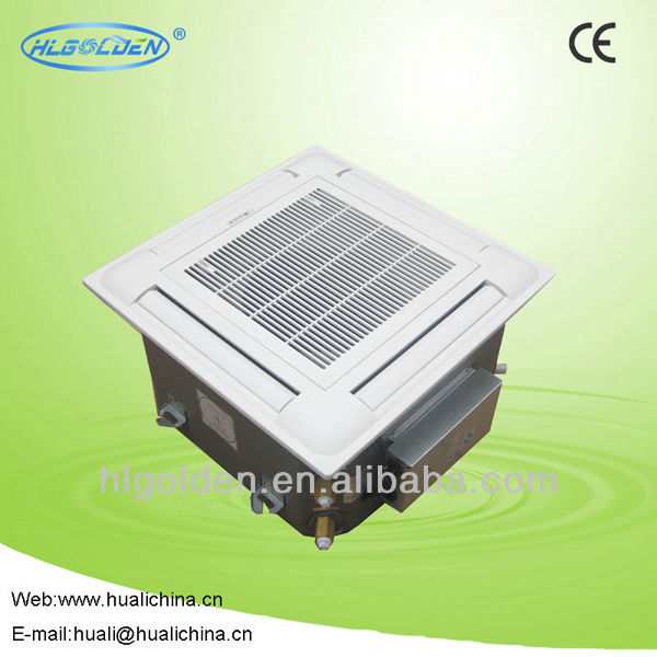 4-Way Chiller Water Cassette Ceiling Fan Coil