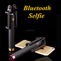 2016 New Arrival Good Quality Customised 3rd generation built-in bluetooth Selfie Stick With Foldable Holder for smart phone