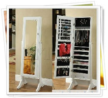 Jewelry Armoire Cosmetic mirrored cabinet furniture