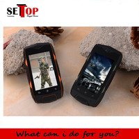 Cheap 3g waterproof shockproof dustphoof mobile rugged smartphone Discovery v10 mini small size safe android4.3