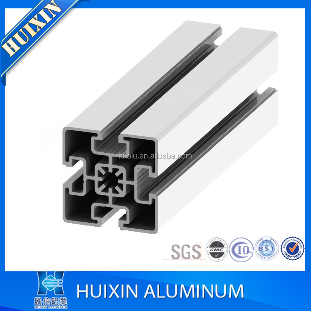 t slot extruded aluminium profile for assembly frame workbench in factory