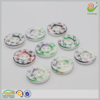 Chinese top 10 brands custom wood resin metal diy button
