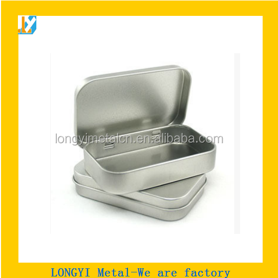 High quality blank metal gift box for package