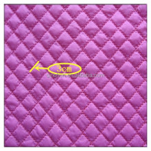 3 layer waterproof diamond quilted fabric wholesale for jacket, padding