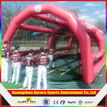 40ft USA airtight PVC inflatable baseball batting cage as inflatable toys for sports game