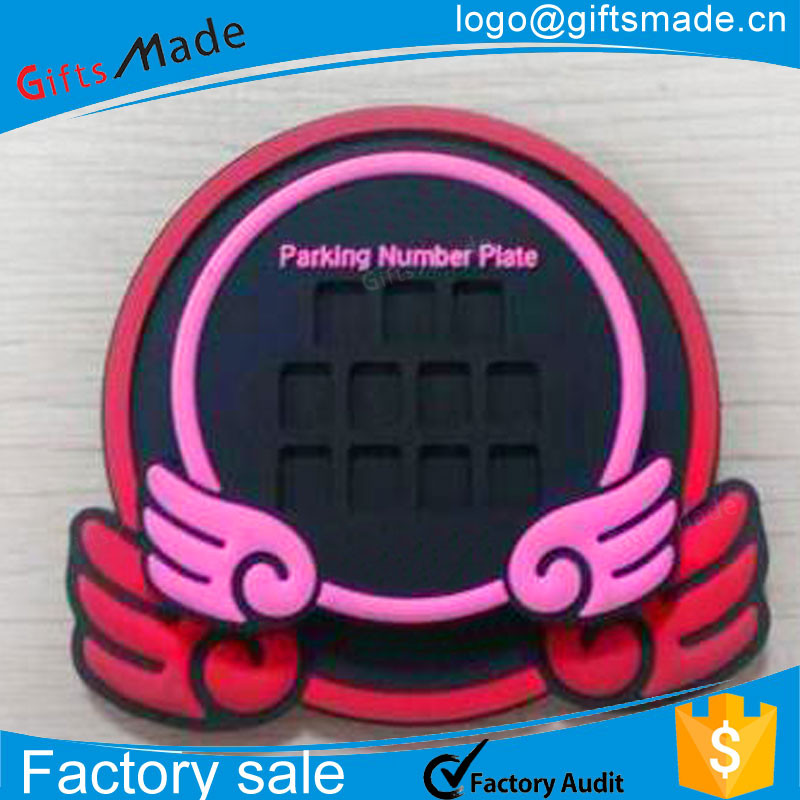 blank number plate colour/custom car plate/fancy number plate design