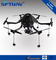 6 rotor aerial monitoring unmanned aircraft