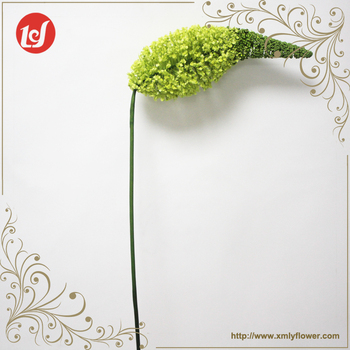 SFH63011 High quality china special fake foam eremurus flowers stem indoor ornament artificial floral foam flower