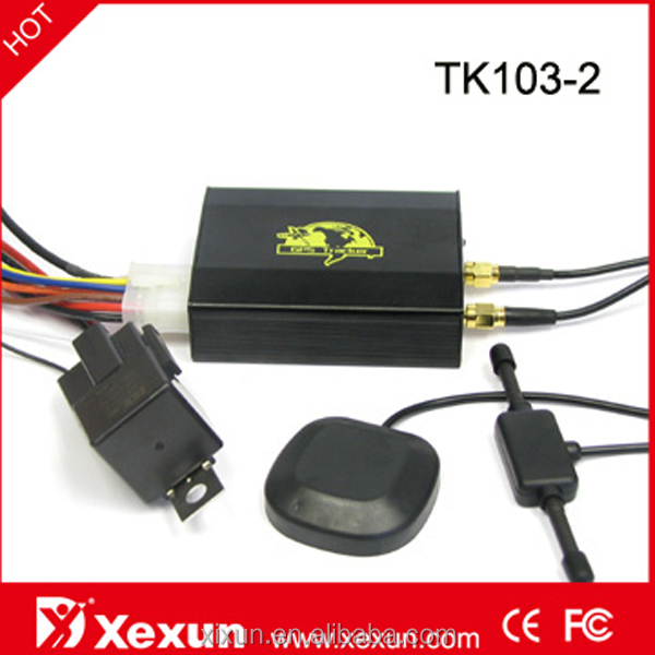 Original Updated XeXun TK103-2 Car GPS Tracker Mobile Tracking Software for PC with SD Slot