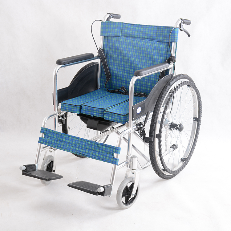 Hot sale high quality cloth light weight foldable wheelchair dubai