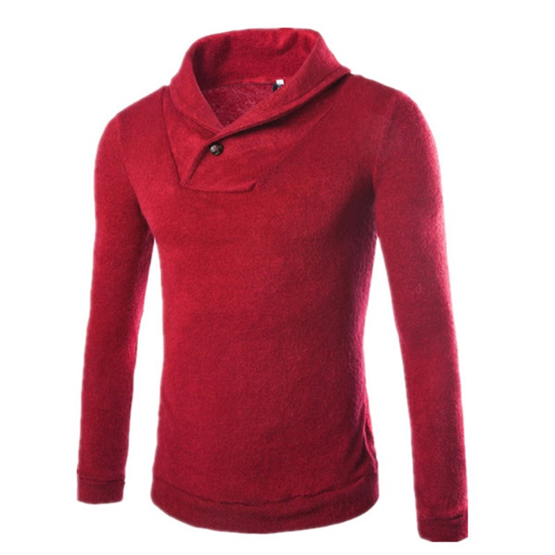 1 pc sale 4 colors for choice winter season warm wear cotton and polyester mixed men sweater