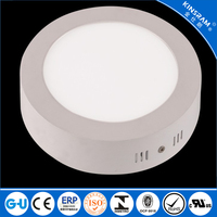Factory price 24W led panel light round surface mounted led lighting