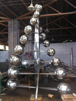 stainless steel sculpture ball