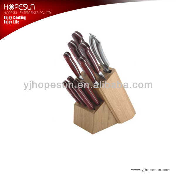 12 piece stainless steel kitchen knife knives set& scissors &bone cutting kitchen knife