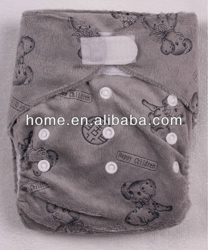 Baby Comfortable and Printed Cloth Diaper sleepy baby diaper