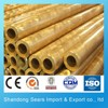 C2400 brass square tube / thick walled brass tube