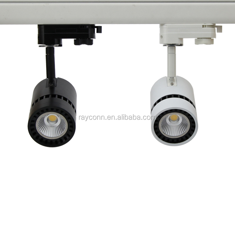 halogen spot retrofit 8W 12W original bridgelux cob led track light elite lighting china