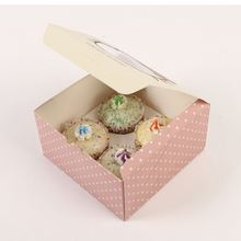 HOT sale attractive style paper cupcake box
