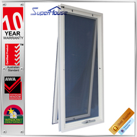 Australia AS2047 standard commercial double glass aluminum cheap house windows for sale