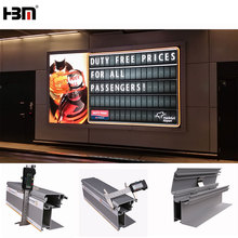 advertising backlit real estate signs outdoor led advertising display stand aluminum frame outdoor led lightbox