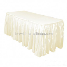 wholesale hotel meetin table skirting