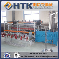Mesh Size(25mm-100mm)Automatic Chain Link Fence Wire Mesh Making Machine