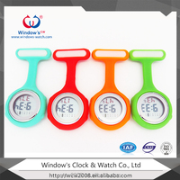 2015 High Quality Silicone Nurse Watch/Nurse Fob Watch/Wholesale Nurse Pin Watch