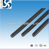 silicone rubber coated knitted fiberglass sleeve