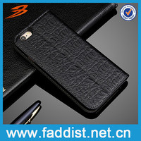 Alibaba China Leather Stand Cell Phone Case For iPhone 6 With Card Slot