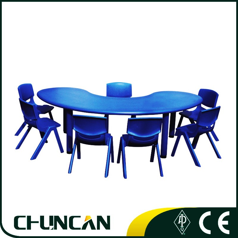 2016 Environmentally friendly Moved Adjustable cheap kid's plasticTable