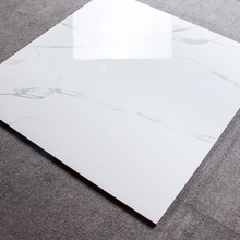 600*600 Italian cararra white marble porcelain floor and wall tiles,super glossy full polished high quality house glazed tiles