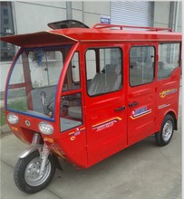 cargo tricycle with closed body
