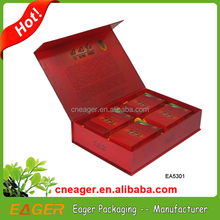Fancy packaging boxes custom logo, cardboard boxes for tea packaging