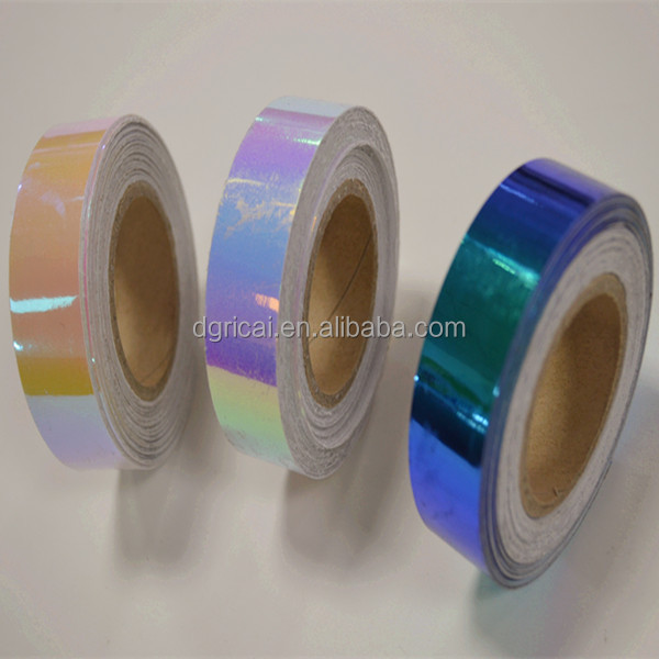 PET Iridescent Wholesale Floral Ribbon,Birthday Decoration Ribbon