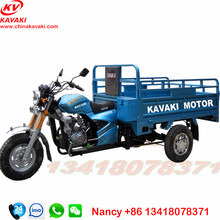 chongqing lifan 150cc engine 1.2m*1.8m cargo box three wheel cargo motorcycle