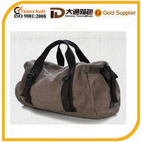 Printing canvas travel duffle bag / custom printed stylish canvas duffle bags
