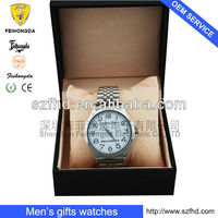gift watch with japan movement 3ATM watch gift set of gift wrap box for watch