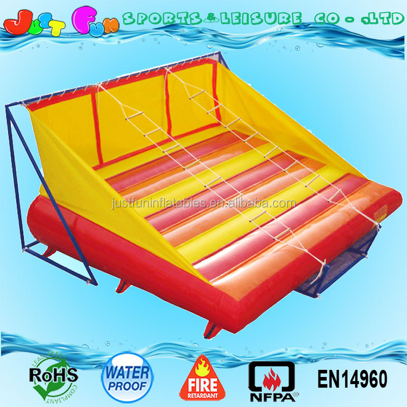 new jacob inflatable adults climbing ladder games for sale