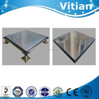 six sides fully encased by galvanized steel calcium sulphate panel